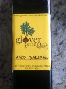 Bottle of Balsamic in photo 5-5-15